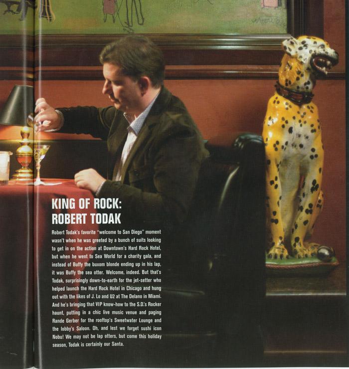 KING OF ROCK: ROBERT TODAK